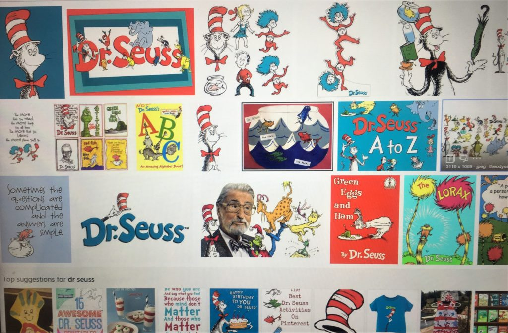 Hats Off Dr. Seuss - Happy Birthday