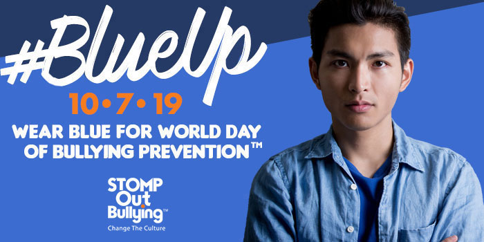 don your blue shirts for bullying prevention