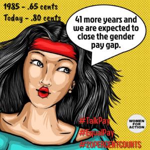 closing gender wage gap social media storm