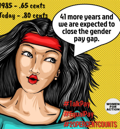 closing gender wage gap social media storm