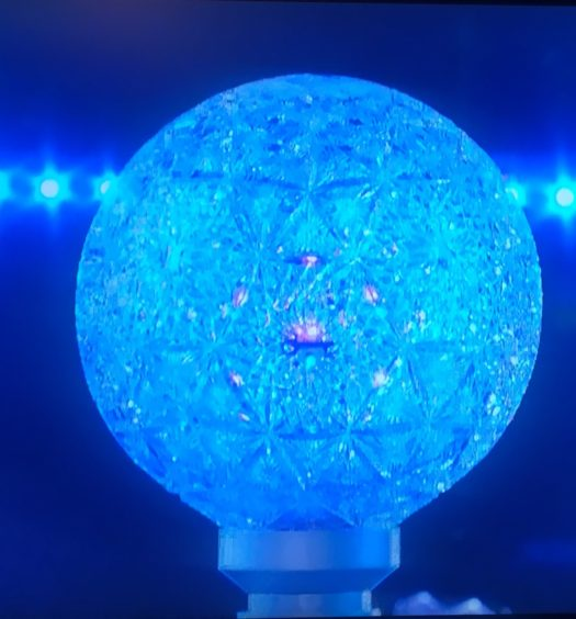 Times Square NYE Crystal Ball
