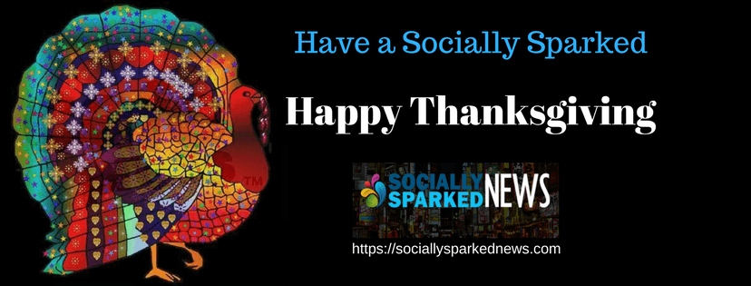 have a socially sparked thanksgiving