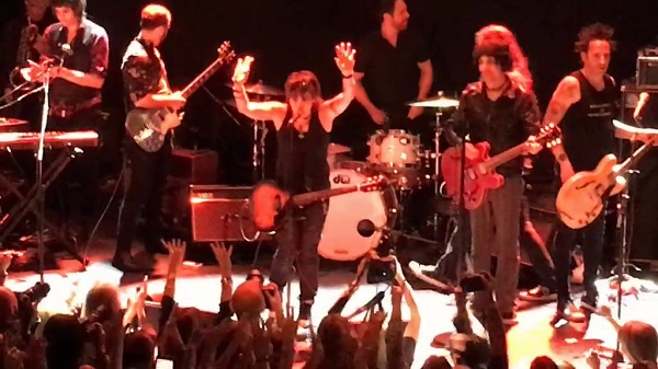 Joan Jett closed out the show with Jesse Malin