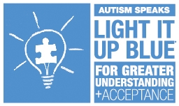 Light Up Blue for World Autism Day