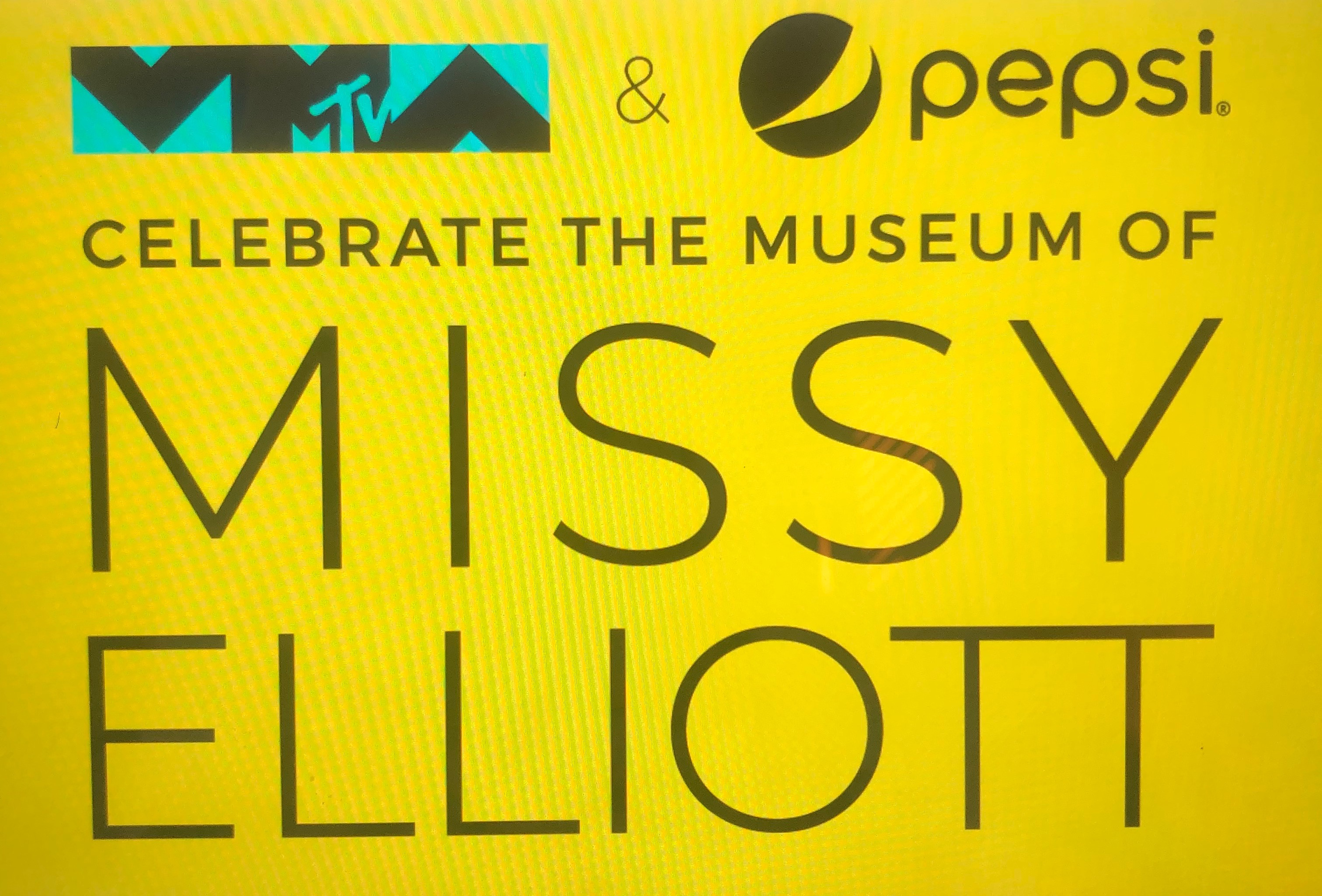 here comes Missy Elliott pop up museum