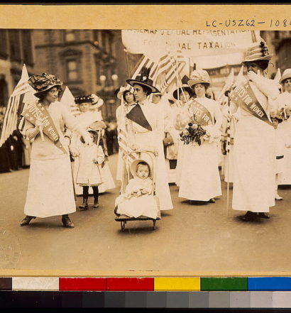 Celebrating Centennial of Women's Suffrage