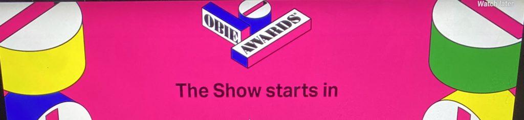 Obie Awards Show goes on via Livestream