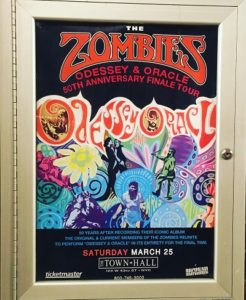 Zombies Jim Rodford music odessey