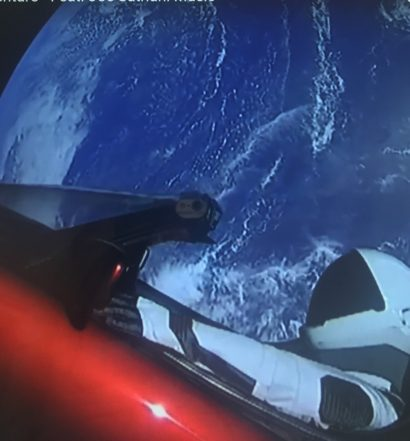 spacex falcon heavy socially sparked universe