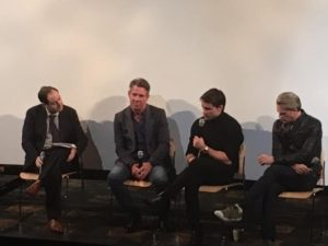 'The Art of More' cast members at sneak peak live chat in NYC. Photo: Socially Sparked News