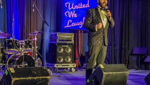 United He Laughs: Comedian Yakov Smirnoff Socially Sparked