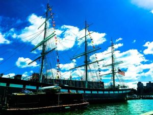 NY Seaport Museum photo by Socially Sparked News