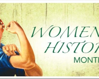 Women's History Month; (c) Abbe Sparks, Socially Sparked News, LLC