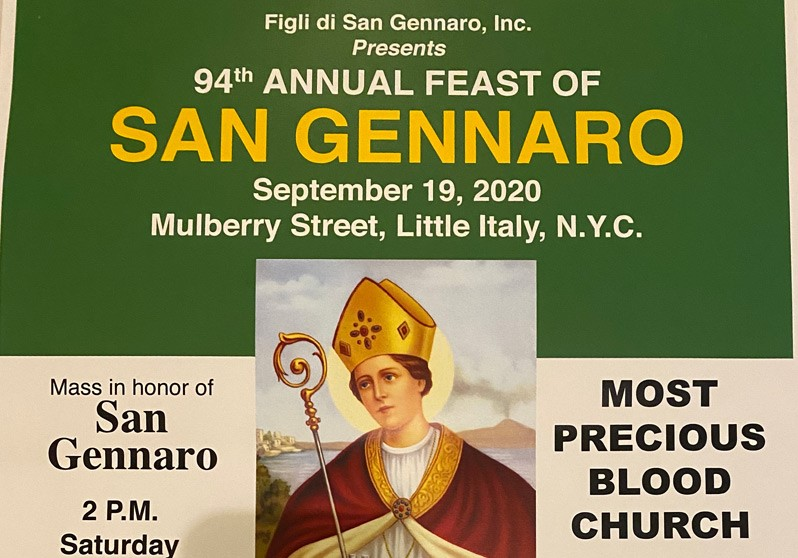 NYC's Little Italy Feast of San Gennaro