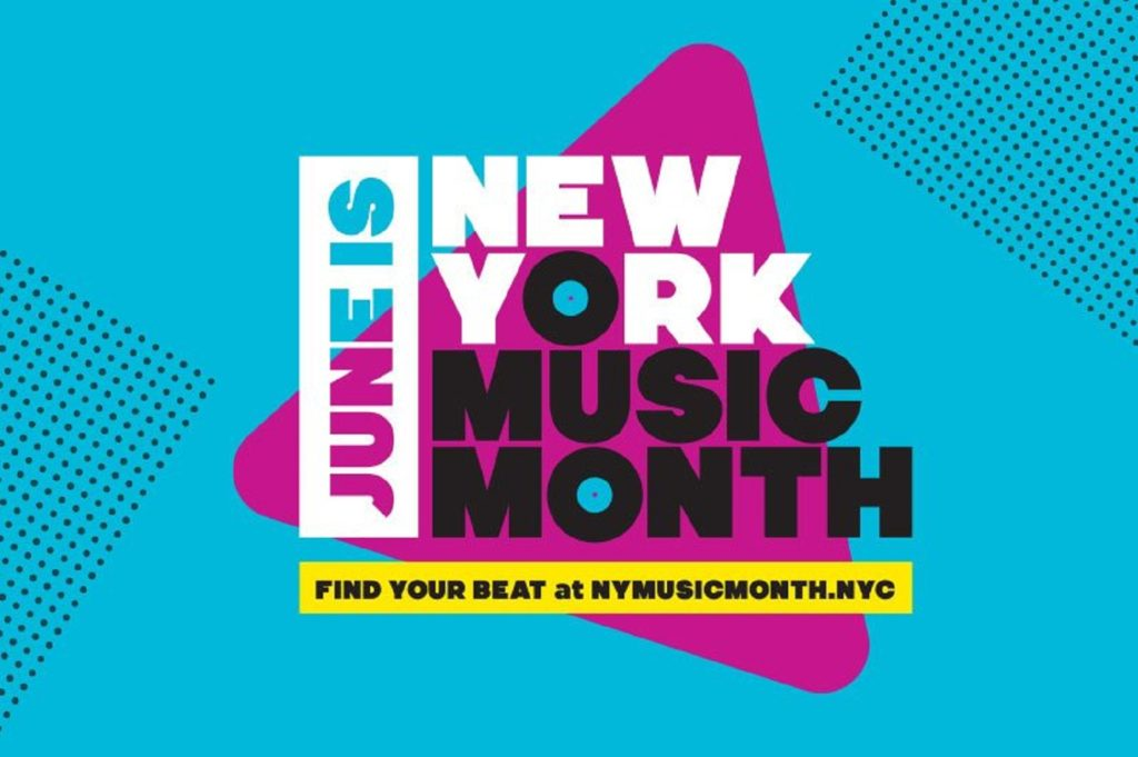 music takes over NY in June