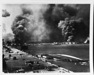 Pearl Harbor Remembrance Day sparks