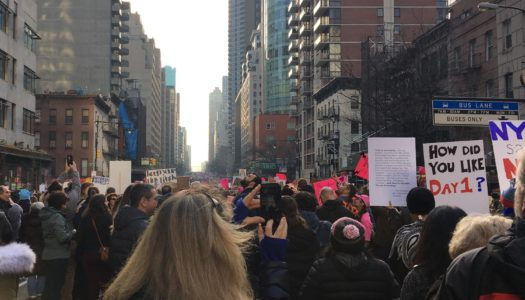 Return of The Women's March 2018