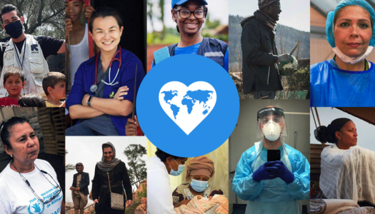Honoring Front-Line Workers for World Humanitarian Day